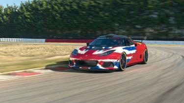 Lotus Evora GT4 Concept - front quarter