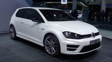 VW Golf R mk7 white front