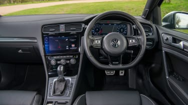 Volkswagen Golf R - interior