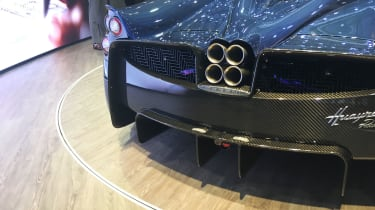Pagani Huayra Roadster - Exhaust