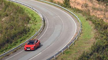 Jaguar I-Pace driving - corner