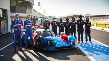 SMP Racing team and BR1