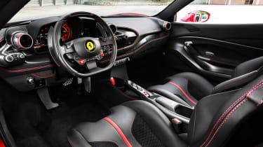 Ferrari F8 Tributo – interior