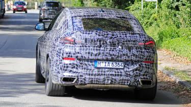 2019 BMW X6 prototype - rear
