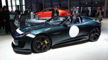 Jaguar F-type Project 7: Paris motor show 2014