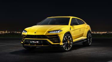 Lamborghini Urus – front quarter