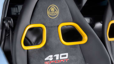 Lotus Exige 410 Sport – seat
