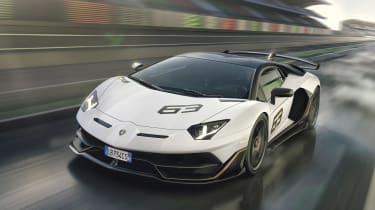 Lamborghini Aventador SVJ - front quarter