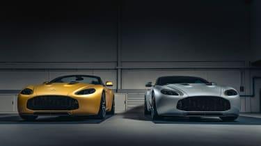 Aston Martin V12 Vantage Zagato R-Reforged front