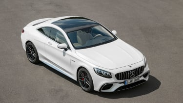 Mercedes S 63 Coupe - front coupe