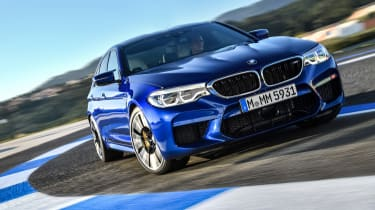 BMW M5 review - driving