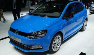 VW Polo 2014 facelift at the Geneva motor show 2014