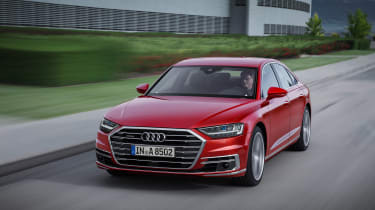 All-new Audi A8 - front 3.4 red 2