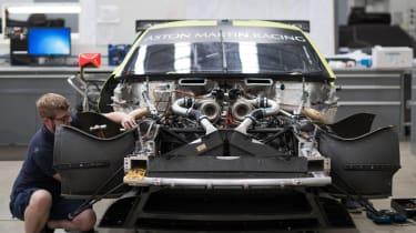 2018 Aston Martin Vantage GTE – engine