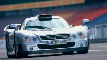 Mercedes-Benz CLK-GTR AMG - Front