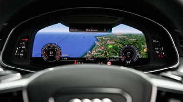 Audi A7 Sportback TDI virtual cockpit