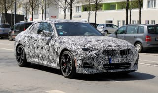 2021 BMW 2-series set 2 spy – front quarter