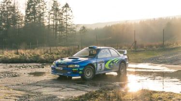Subaru Impreza S6 WRC – front quarter