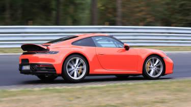 992 Porsche 911 prototype - profile