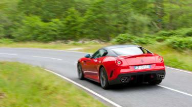 Ferrari 599 GTO - Driving shot