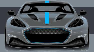 Aston Martin RapidE - front2