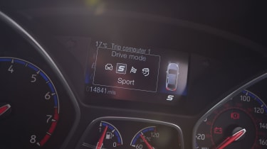 Ford Focus RS Mountune M400 - Driving modes