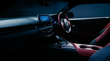 Toyota GR Supra 2.0 - interior