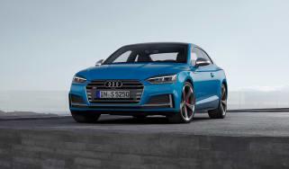 Audi S5 TDI - front quarter