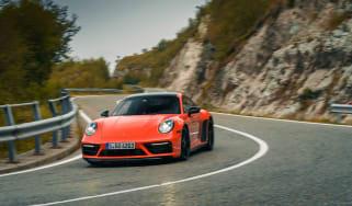 Porsche 911 GTS review (992) – front cornering