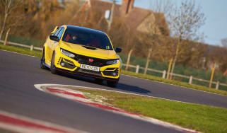 Honda Civic Type R Limited Edition - sideways
