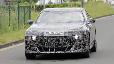Next generation BMW 7-series spied – nose
