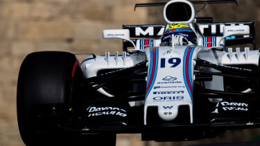 Baku Gran Prix 2017 - Williams close up