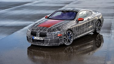 BMW 8 series official spy shots high