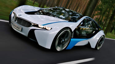 BMW Vision at Frankfurt