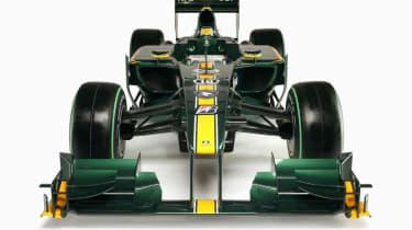 2010 Lotus Formula 1 car