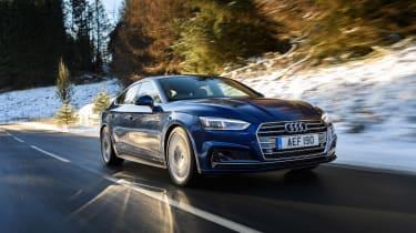 Audi A5 Sportback S-Line - front clos