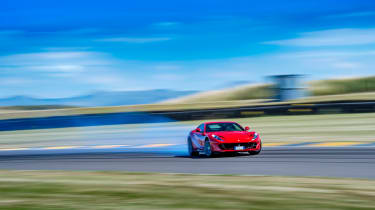 Ferrari 812 Superfast Anglesey - cornering