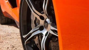 McLaren 650S alloy wheel