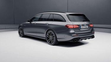 Mercedes-AMG E 53 saloon – rear quarter