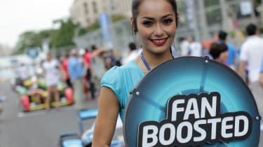 Formula E fan boost