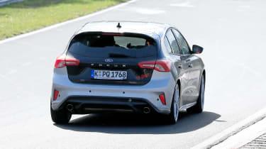 Ford Focus ST spy - rear