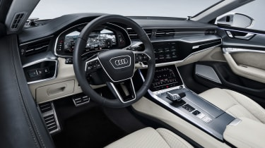 2018 Audi A7 Sportback press - interior