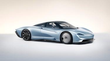 McLaren Speedtail - front quarter