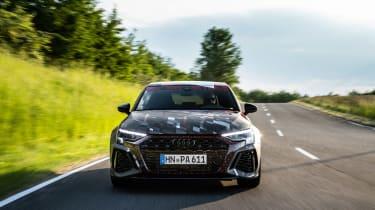 Audi RS3 mule 2020 SB – nose