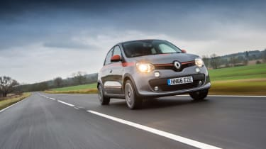 Renault Twingo GT front three-quarters