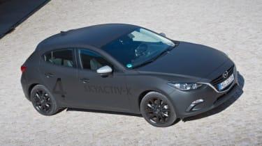 Mazda Skyactive X prototype - quarter
