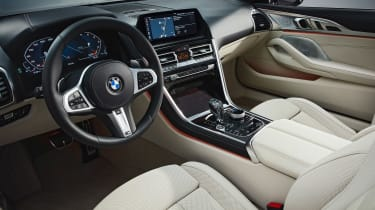 BMW 8-series Convertible - interior