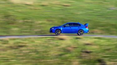 Subaru WRX STI Final Edition - side