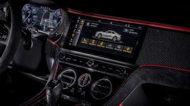 2021 Bentley Continental GT Speed - static dash