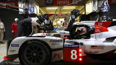 Le Mans 2017 - Toyota pits
